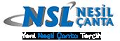Nesil Canta Mavi Logo Kucuk